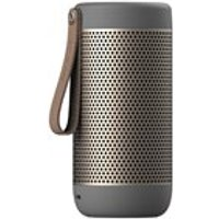 Product photograph showing Acoustic Portable Bluetooth Speaker - Black