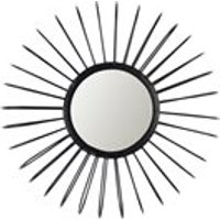 Product photograph showing Selena Wall Mirror - Gold