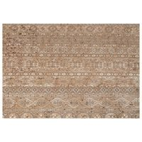 Product photograph showing Dutchbone Shisha Persian Style Carpet In Forest Design