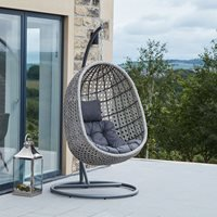 Product photograph showing Pacific Lifestyle Garden Hanging Chair - Single