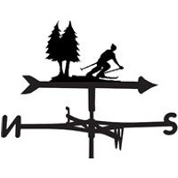 Weathervane in Skiing Hobbies Designs - Large (Traditional)