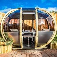 Small Oval House Garden Pod - Dune