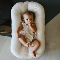 Product photograph showing Snuggle Me Organic Infant Lounger - Birch