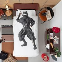 Snurk Single Ninja Duvet Bedding Set