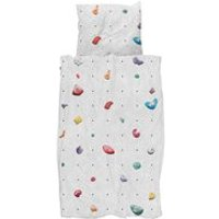 Snurk Single Climbing Wall Duvet Bedding Set
