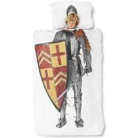 Snurk Childrens Knight Duvet Bedding Set - Double