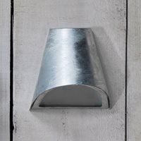 Product photograph showing Garden Trading St Ives Outdoor Funnel Wall Light
