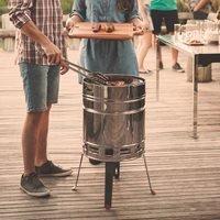 Tramontina Beer Barrel BBQ Grill