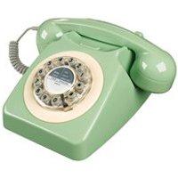 Retro 746 Telephone in Swedish Green