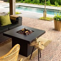 Product photograph showing Cosi Fires Cosibrixx 90 Fire Pit Table
