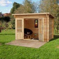 Forest Garden Harwood 3m x 2m Log Cabin - 34kg Felt Plus Underlay