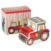 Old Macdonald's Farm Money Box with Gift Box