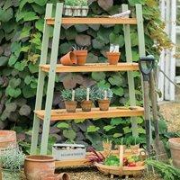Product photograph showing Verdi 4 Shelf Plant Stand