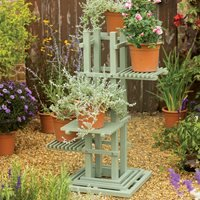 Product photograph showing Verdi Square Plant Stand