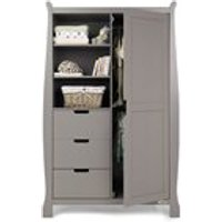 Obaby Stamford Double Wardrobe in Taupe Grey