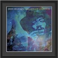 Jimi Hendrix Framed Album Wall Art in Valleys of Neptune Print - Large