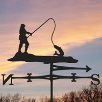 Weathervane in Fishing Design - Large (Traditional)