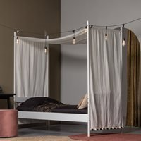Woood Wendy Single Four Poster Canopy Bed