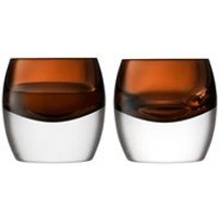Product photograph showing Lsa Whisky Club Tumblers Set Of 2
