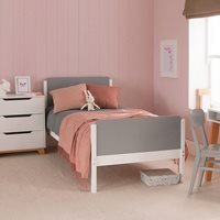 The Edit Single Bed - White and Red
