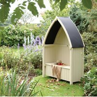 Rowlinson Winchester Outdoor Arbour in Natural Timber