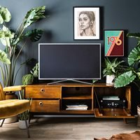 Product photograph showing Eleonora Wisconsin Tv Cabinet - 150cm