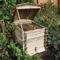 Rowlinson Beehive Composter in Natural Timber