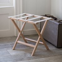 Product photograph showing Garden Trading Folding Luggage Rack With Fabric Straps