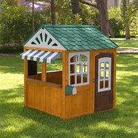 Product photograph showing Kidkraft Garden View Outdoor Playhouse