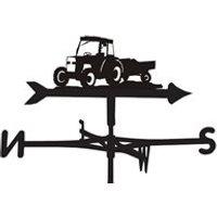 Weathervane in Workhorse Tractor Design - Medium (Cottage)