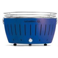 Lotus Grill XL BBQ in Blue with Free Fire Lighter Gel and Charcoal