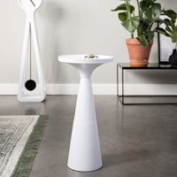 Zuiver Floss Side Table in White