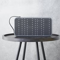Product photograph showing Asound Bluetooth Speaker In Grey