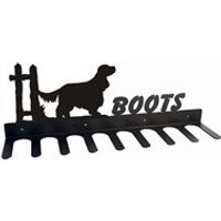 Boot Rack in English Cocker Spaniel Design - Large