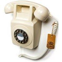 GPO Retro Wallphone 746 in Ivory
