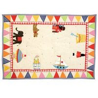 Product photograph showing Toy Shop Floor Quilt By Win Green - Large