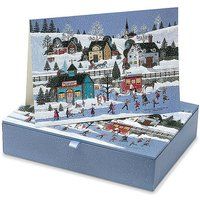 20 Village Cheer Boxed Cards