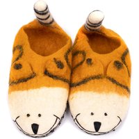 Felted Cat Slippers