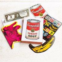 12 Andy Warhol Diecut Cards