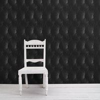 Chesterfield Wallpaper (colour: Black)