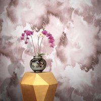 Baltic Sea Wallpaper by Feathr (colour: Pink)