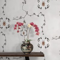 Jewel Scarab Wallpaper by Feathr (colour: Classic)