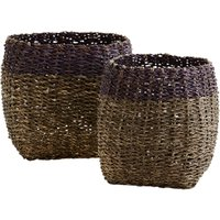 Bamboo Rope Basket (size: Small)
