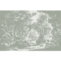 Lost in Goa Wall Mural (colour: Grey, size: Small (150w x 300h))
