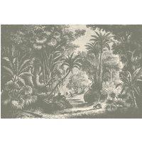 Lost in Goa Wall Mural (colour: Vintage, size: Medium (300w x 300h))