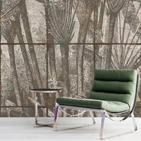 The Palm Grove Wallpaper (colour: Patinated)