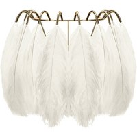 Feather Wall Lamp - White