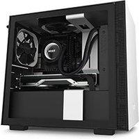 NZXT H210 Noir Blanc mT Sans Alim ITX