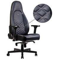 NOBLECHAIRS ICON Vrai Cuir Blue nuit