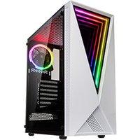 Kolink VOID RGB White MT Sans Alim ATX